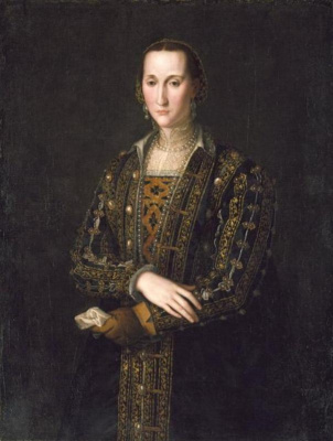 Agnolo Bronzino. Portrait of Eleanor Toledo
