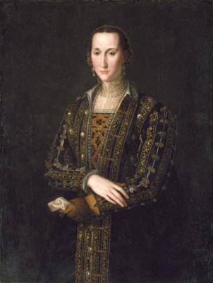Agnolo Bronzino. Portrait of Eleanor Toledo