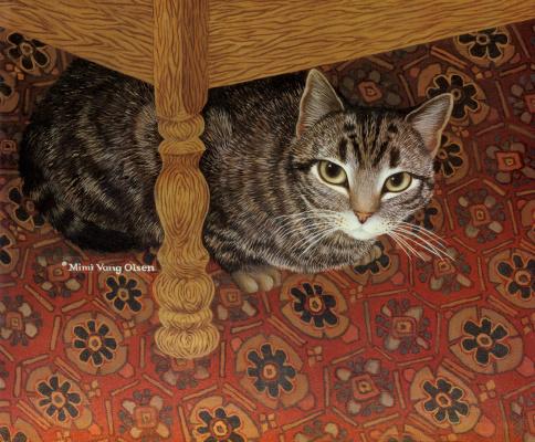 Мими Ванг Олсен. Кот на ковре