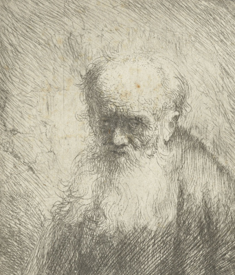 Jan Livens. A man with a long beard