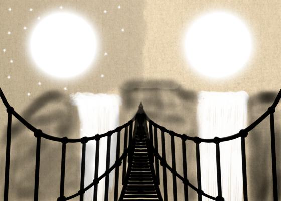 Dream Fox Arts. Мост