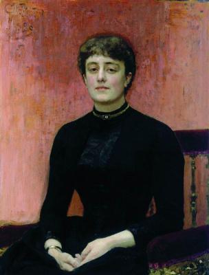 Ilya Efimovich Repin. Portrait Of E. N. Zvantseva arts