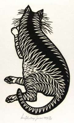 Яков Гниздовский. Тигровый кот