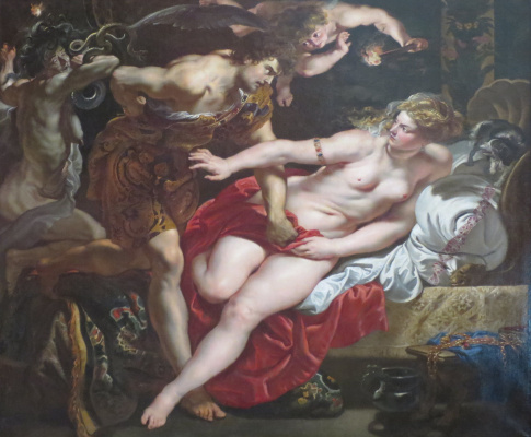 Peter Paul Rubens. Tarquinius and Lucretia
