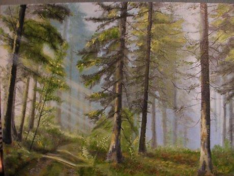 """Alexander Nikolaevich Gorokhov. """"Autumn forest """""""
