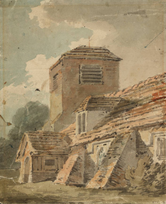 Joseph Mallord William Turner. Church in Leigh, Kent