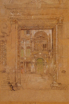 James Abbot McNeill Whistler. St. John The Apostle Evangelist