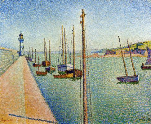 Paul Signac. Mast