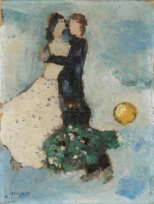 Марк Захарович Шагал. По голубому небу