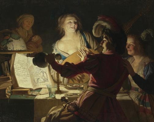 Gerard van Honthorst. Prodigal son