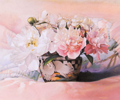 Nancy Noel. Peonies