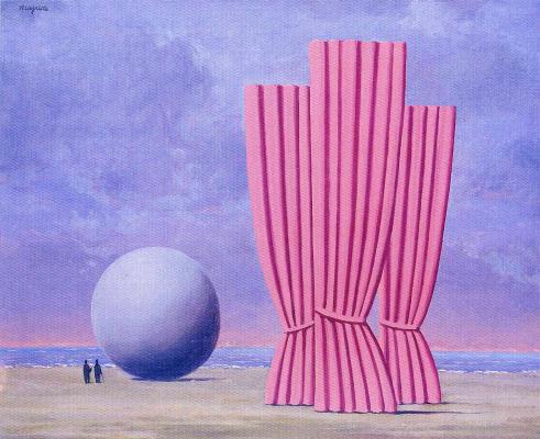 René Magritte. Ball