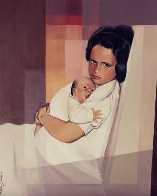 Monica Ozamiz Fortis. Baby