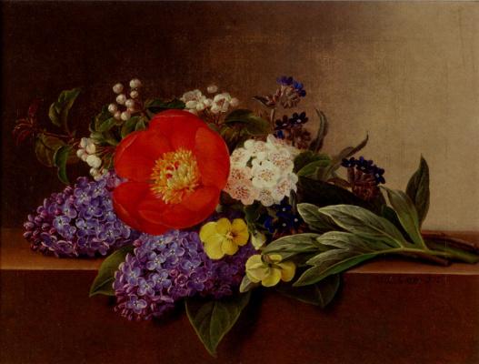 Йохан Лоренц Дженсен. Цветы