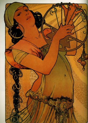 Alphonse Mucha. Salome