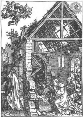 Albrecht Durer. The adoration of the shepherds