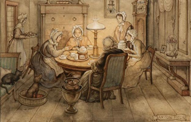 Anton Peak. Tea party