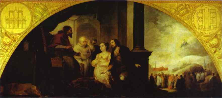 Bartolomé Esteban Murillo. The patrician Juan and his wife