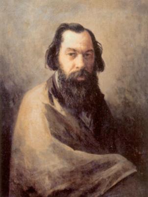 Иосиф Петрович Волков. Портрет художника Алексея Кондратьевича Саврасова
