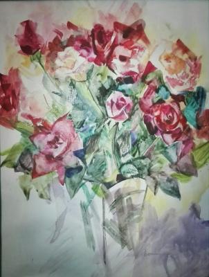 Kamilla Marakulina. August. Garden. Roses.