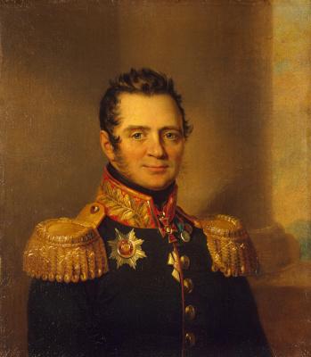 George Dow. Portrait of Alexander Petrovich Urusov