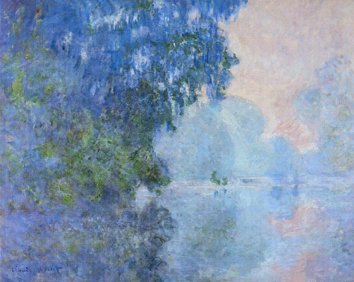 Claude Monet. Morning on the Seine