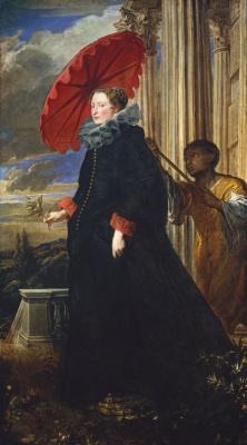 Anthony van Dyck. Markiza Elena Grimaldi Cattaneo