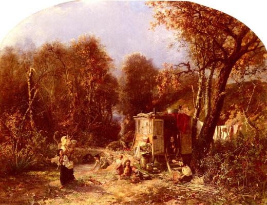 Пьер Эдмон Жан Кастан. Жизнь в лесу