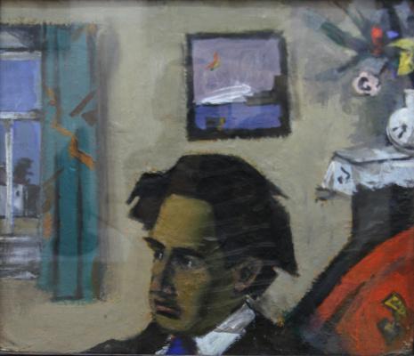 Теофил Борисович Фраерман. Портрет в интерьере