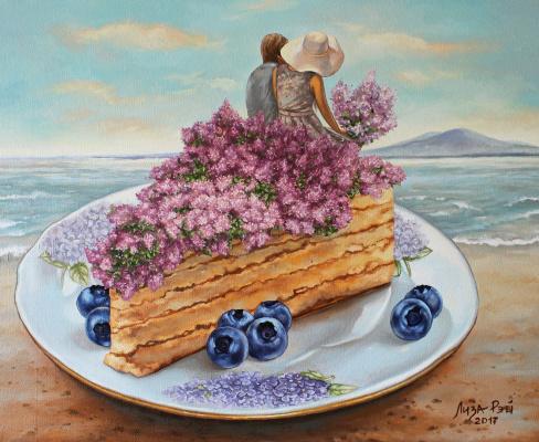 Lisa Ray. Lilac