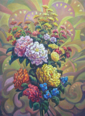 Андрей Никонорович Сутин. Floral fantasy