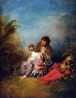 Antoine Watteau. Mistake