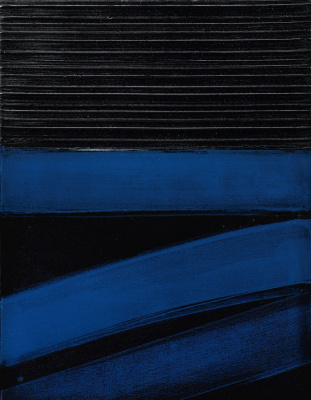Pierre Soulaj. Untitled