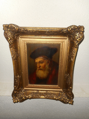 """Rembrandt in Red"""