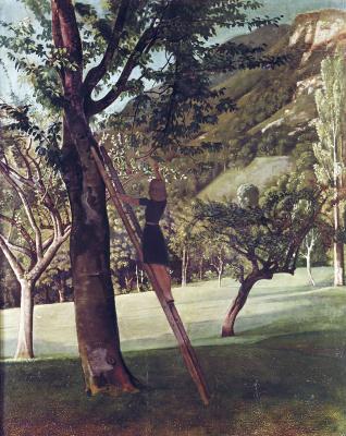 Balthus (Balthasar Klossovsky de Rola). Cherry tree