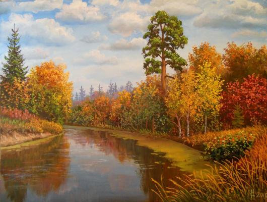 Сергей Яковлевич Краев. Осень