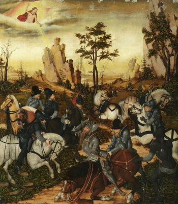 Lucas Cranach the Younger. The Conversion Of Saul.