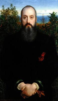 Энтони Фредерик Огастас Сэндис. Портрет Уильяма Г. Клабборна