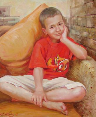 Виталий Викторович Жердев. Portrait of Kostya Ryzhkov