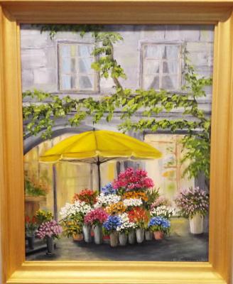 Ольга Болеславовна Горпинченко. Flower shop