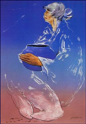 Берт Сиборн. Небесно-голубой горшок