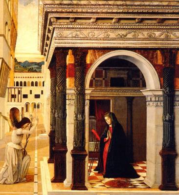 Gentile Bellini. The Annunciation