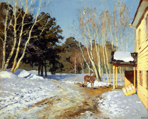 Isaac Levitan. March
