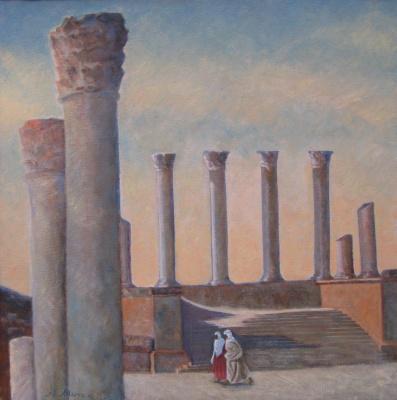 Alexander Ilyich Michri. Tunisia. Capitol Tuburbo Majus