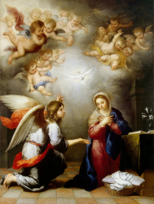 Bartolomé Esteban Murillo. The Annunciation