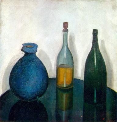 Robert Rafailovich Falk. Bottle and pitcher