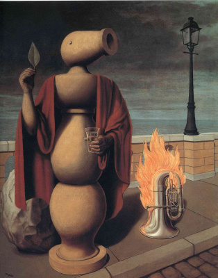 René Magritte. Human rights