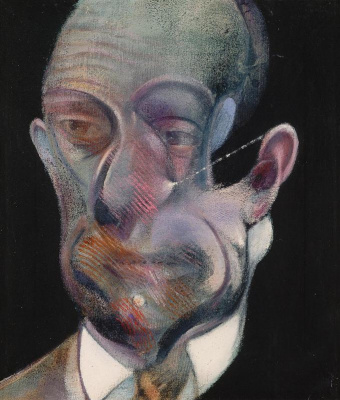 Francis Bacon. Study For Portrait (Michel Leiris)