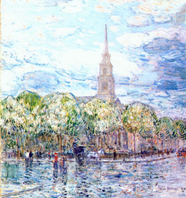 Childe Hassam. San Marco in the Bowery