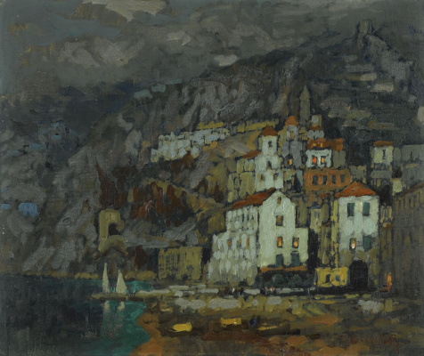 Константин Иванович Горбатов. Вид Амальфи. 1925.